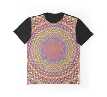 Trippy Optical Illusion Graphic T-Shirt