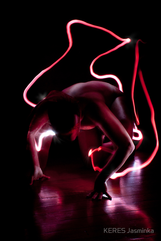 Red animal by KERES Jasminka
