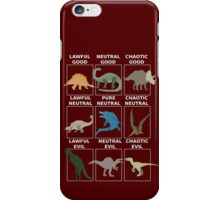 Dinosaurs alignment iPhone Case/Skin