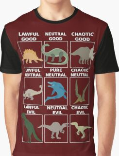 Dinosaurs alignment Graphic T-Shirt