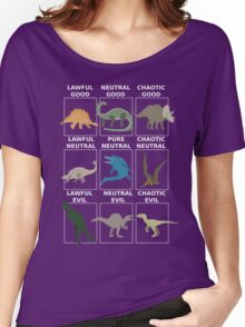 Dinosaurs alignment Women's Relaxed Fit T-Shirt