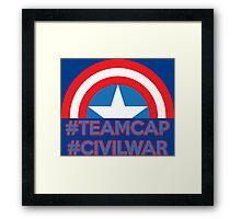 TeamCap Framed Print