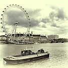 London Eye by Aase