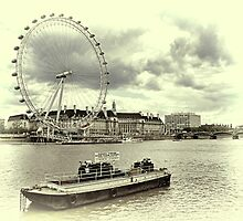 London Eye by Aase