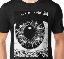 13 Eye Window To The Soul By Chris McCabe - DRAGAN GRAFIX Unisex T-Shirt