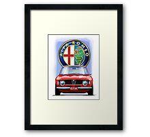 Alfa Romeo GTA Framed Print