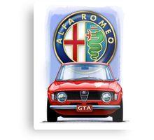 Alfa Romeo GTA Metal Print