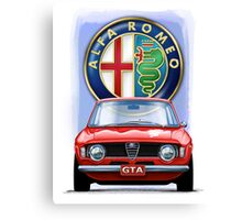 Alfa Romeo GTA Canvas Print