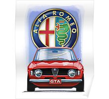 Alfa Romeo GTA Poster