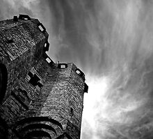 Tower & Clouds by Alessiocorner