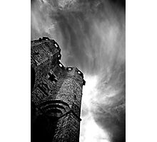 Tower & Clouds Photographic Print