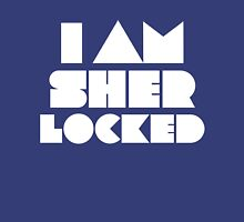 I Am Sherlocked Womens Fitted T-Shirt