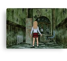 The First Day at Fairview High School - Zombies Canvas Print