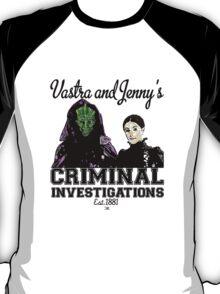 Vastra and Jenny's Criminal Investigations T-Shirt