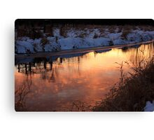 Reflection of the Sky Canvas Print