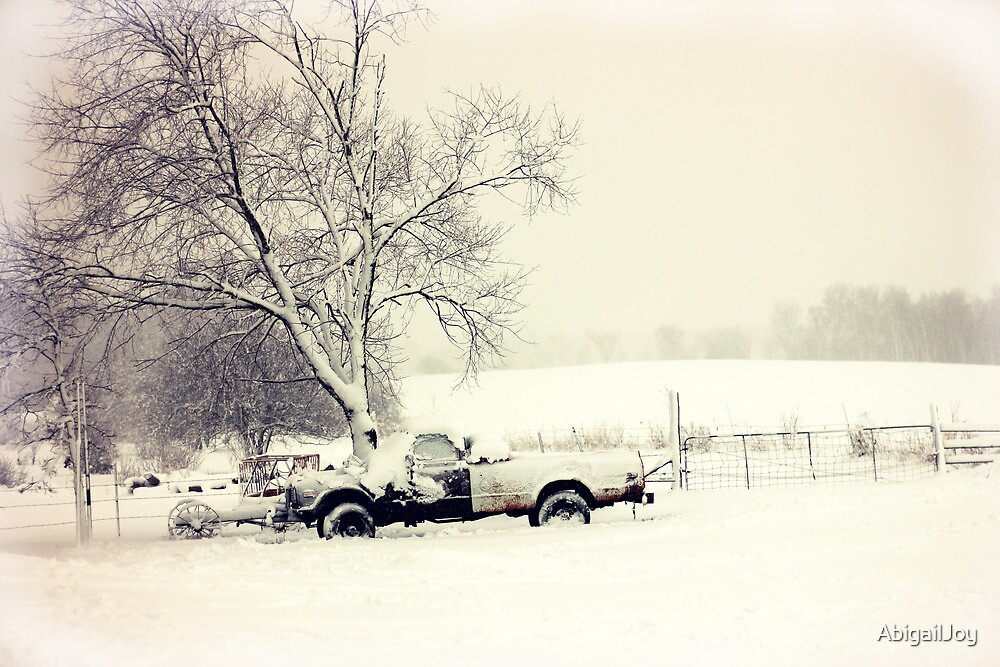 Snow Scene by AbigailJoy
