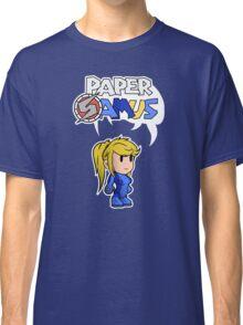 Paper Samus (Zero Suit Ver.) Classic T-Shirt