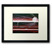 Tree of Life (Red) Framed Print