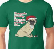 Santa Pug The Christmas Pug Unisex T-Shirt