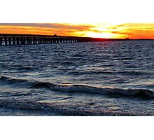 Carolina Sunset Photographic Print