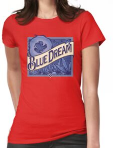 Blue Dream Womens Fitted T-Shirt