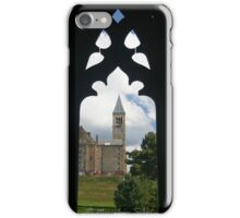 Cornell clock tower from west campus iPhone Case/Skin
