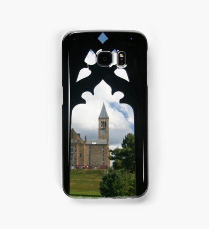 Cornell clock tower from west campus Samsung Galaxy Case/Skin