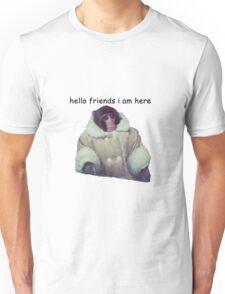 hello friends i am here: ikea monkey Unisex T-Shirt