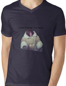 hello friends i am here: ikea monkey Mens V-Neck T-Shirt