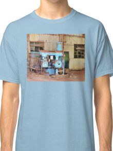 Old Sugar Factory Equipment Classic T-Shirt
