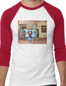 Old Sugar Factory Equipment Men's Baseball ¾ T-Shirt