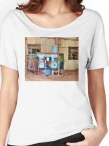Old Sugar Factory Equipment Women's Relaxed Fit T-Shirt