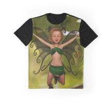 Fairy in Free-Fall Graphic T-Shirt