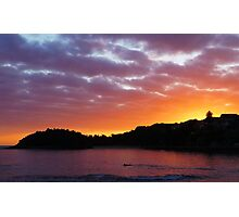 Shelly Beach Sunrise Photographic Print