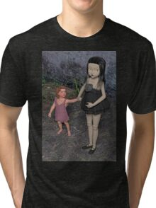 The Doll and Her Child Tri-blend T-Shirt