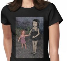 The Doll and Her Child Womens Fitted T-Shirt