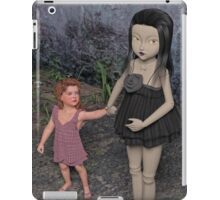 The Doll and Her Child iPad Case/Skin