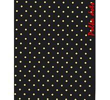 Polka dots Photographic Print