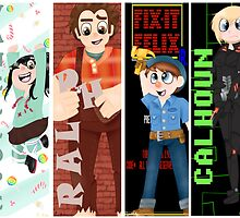 Wreck it Ralph - Level Up!  by GraySea