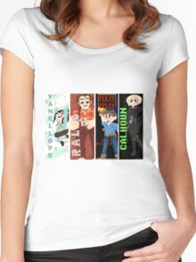 Wreck it Ralph - Level Up!  Women's Fitted Scoop T-Shirt