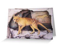 Tasmanian Tiger (Thylacine) Greeting Card