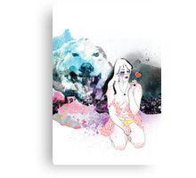 Lolita Wolf Canvas Print
