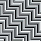 Stripy steps in Grey by bradwoodgate