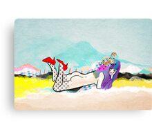 Shimokita Girl Canvas Print