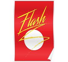 "Retro Superheroes ""Flash"" Poster"