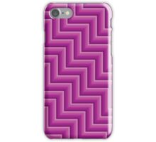 Stripy steps in Pink iPhone Case/Skin