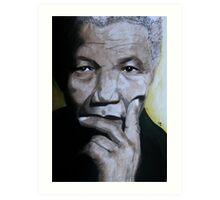 Madiba Art Print