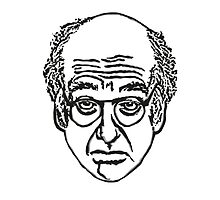 Larry David's Face on Everything by paigehally
