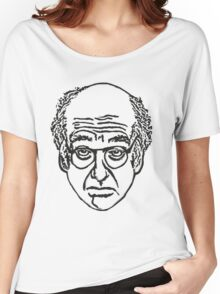 Larry David's Face on Everything Women's Relaxed Fit T-Shirt