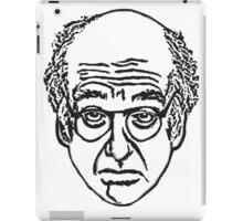 Larry David's Face on Everything iPad Case/Skin